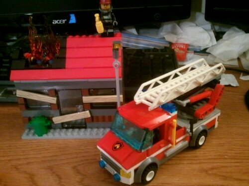 Lego City 60003 Fire Emergency