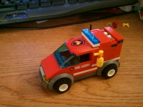 Lego 60004 Fire Station Paramedic Unit Car