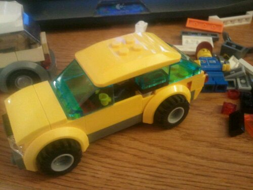 Lego 4207 Yellow Wagon