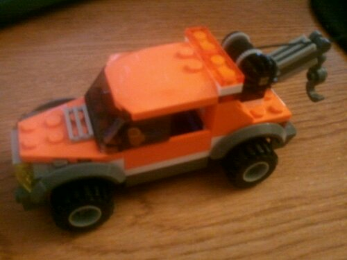 Lego 4207 Orange Tow Truck