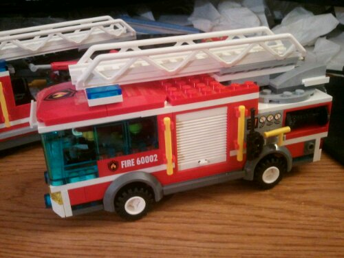 Lego City 60002 Fire Truck