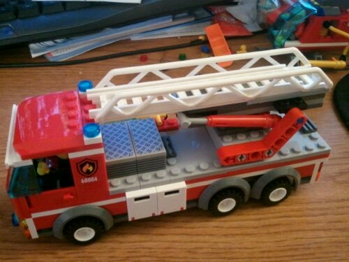Lego 60004 fire engine