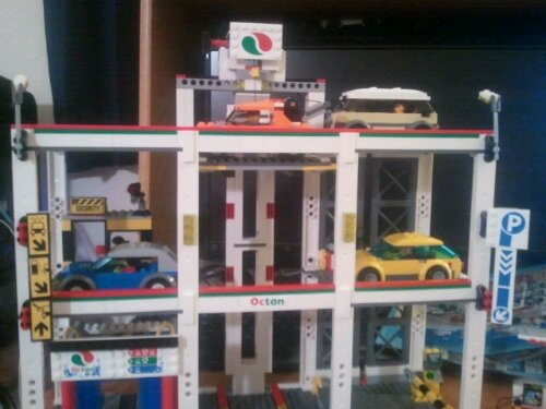 Lego 4207 City Garage