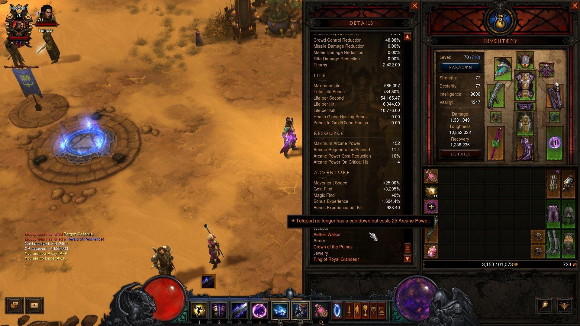Diablo 3 Builds