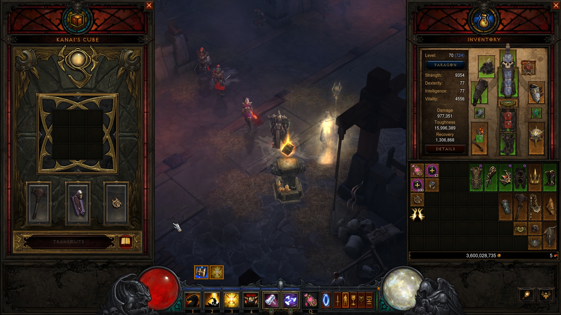 Diablo 3: Justice/Blessed Hammer Seeker of the Light Crusader Build